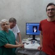 Das erste Röntgenbild am 18.03.2015